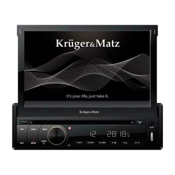 DVD PLAYER AUTO KRUGER&MATZ 1DIN 7 GPS DVBT
