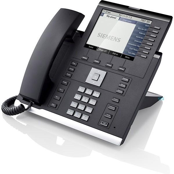 Desk Phone IP 55G HFA text black
